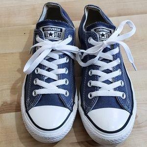 Blue Low Top Converse